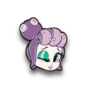 Cuphead Collectable | Cuphead Mermaid Boss Enamel Pin | Collector's Edition
