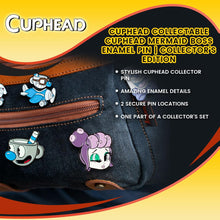 Load image into Gallery viewer, Cuphead Collectable | Cuphead Mermaid Boss Enamel Pin | Collector's Edition