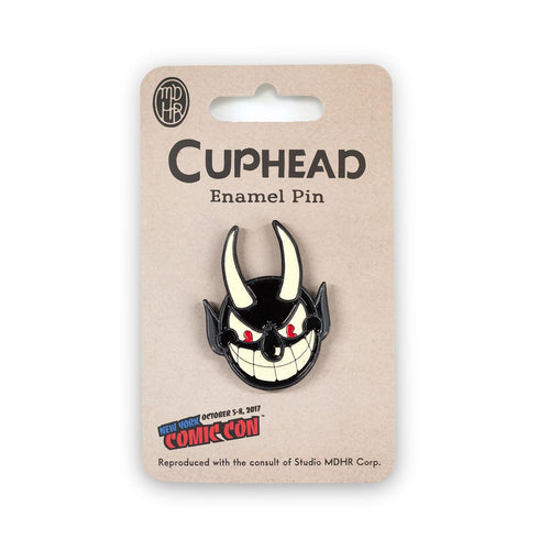EXCLUSIVE Cuphead Devil Enamel Collector Pin | Feat. The Devil From Cuphead