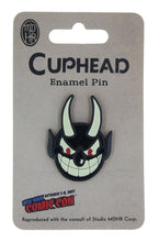 Load image into Gallery viewer, EXCLUSIVE Cuphead Devil Enamel Collector Pin | Feat. The Devil From Cuphead