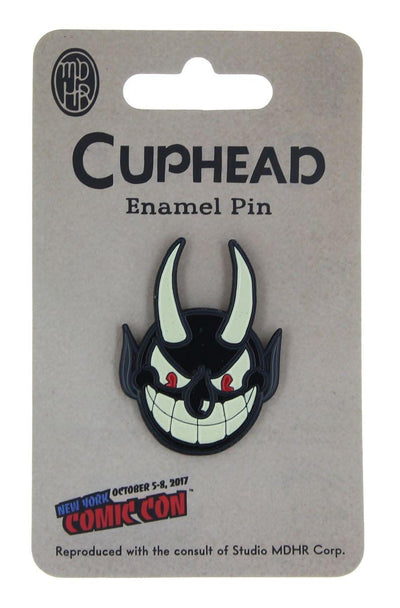 Cuphead Deal with the Devil Devil Pin 2017 NYCC Exclusive