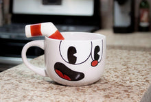 Load image into Gallery viewer, Cuphead 20oz Ceramic Molded Mug, Cuphead
