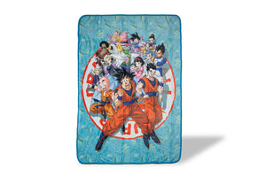Dragon Ball Super Heroes 45x60 Inch Fleece Throw Blanket