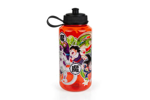 Dragon Ball Z 32 oz Plastic Water Bottle - Single Wall Drinking Sports Bottle