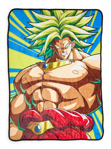 Dragon Ball Z Broly 45 x 60 Inch Fleece Throw Blanket