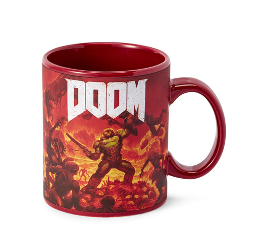 DOOM Doomslayer 16oz Ceramic Coffee Mug