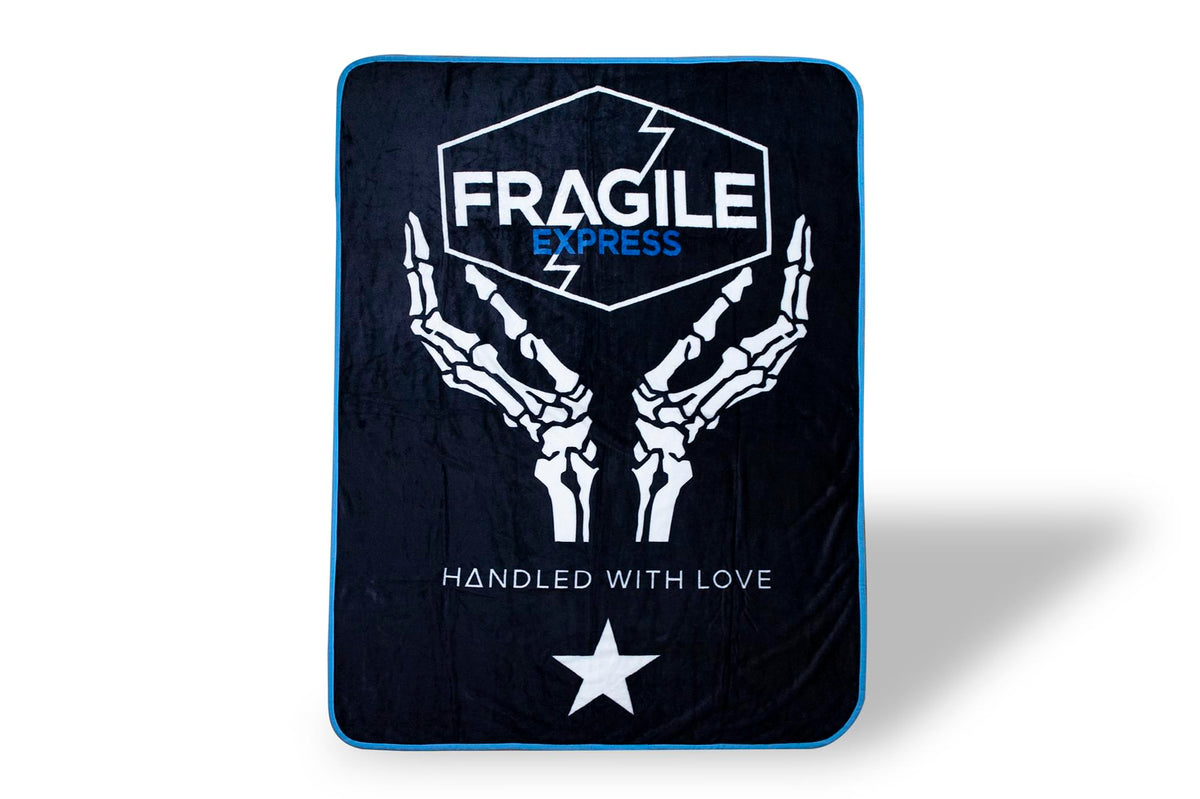 Death Stranding Fragile Express Fleece Throw Blanket | 45 x 60 Inch Cozy Blanket