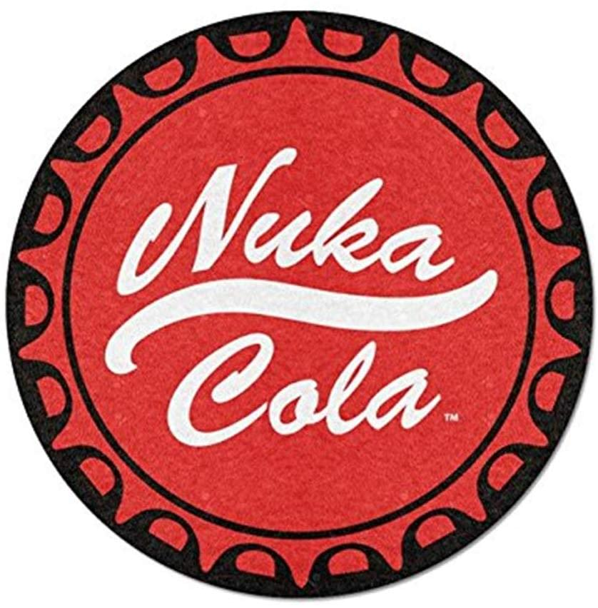 Fallout Nuka Cola 48 Inch Round Fleece Throw Blanket