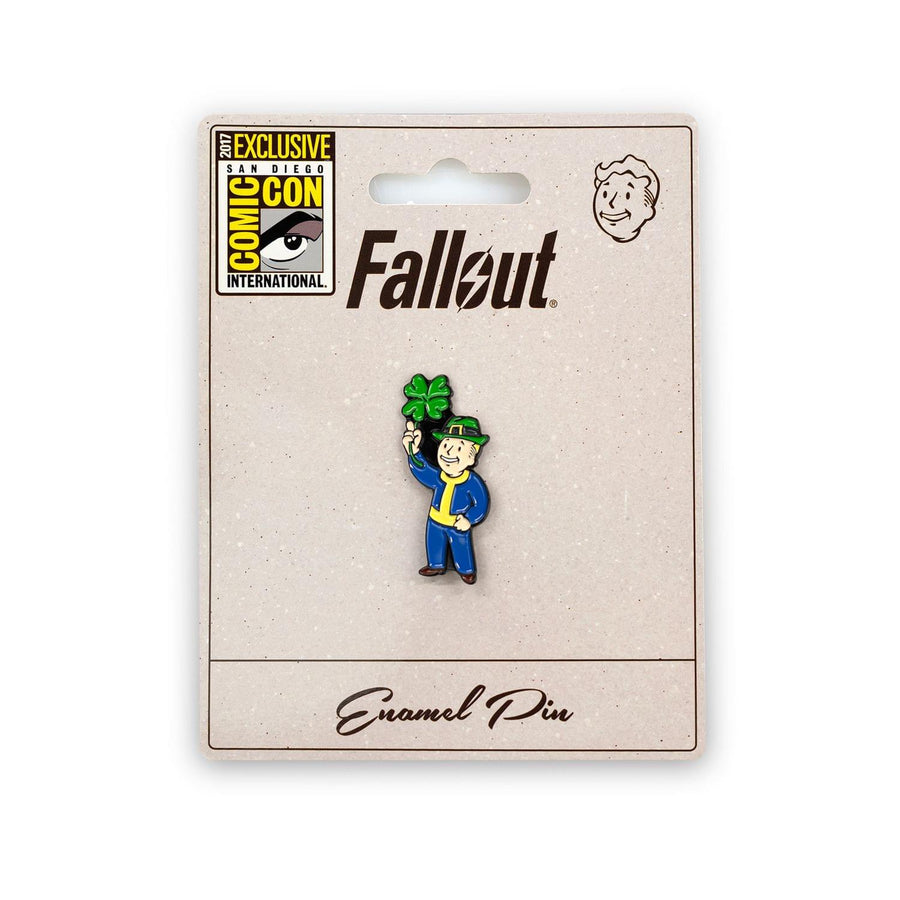Fallout Lucky Vault Boy Collectible Pin, SDCC '17 Exclusive