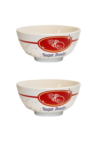 Fallout Sugar Bombs 20oz Ceramic Cereal Bowl | Set of 2