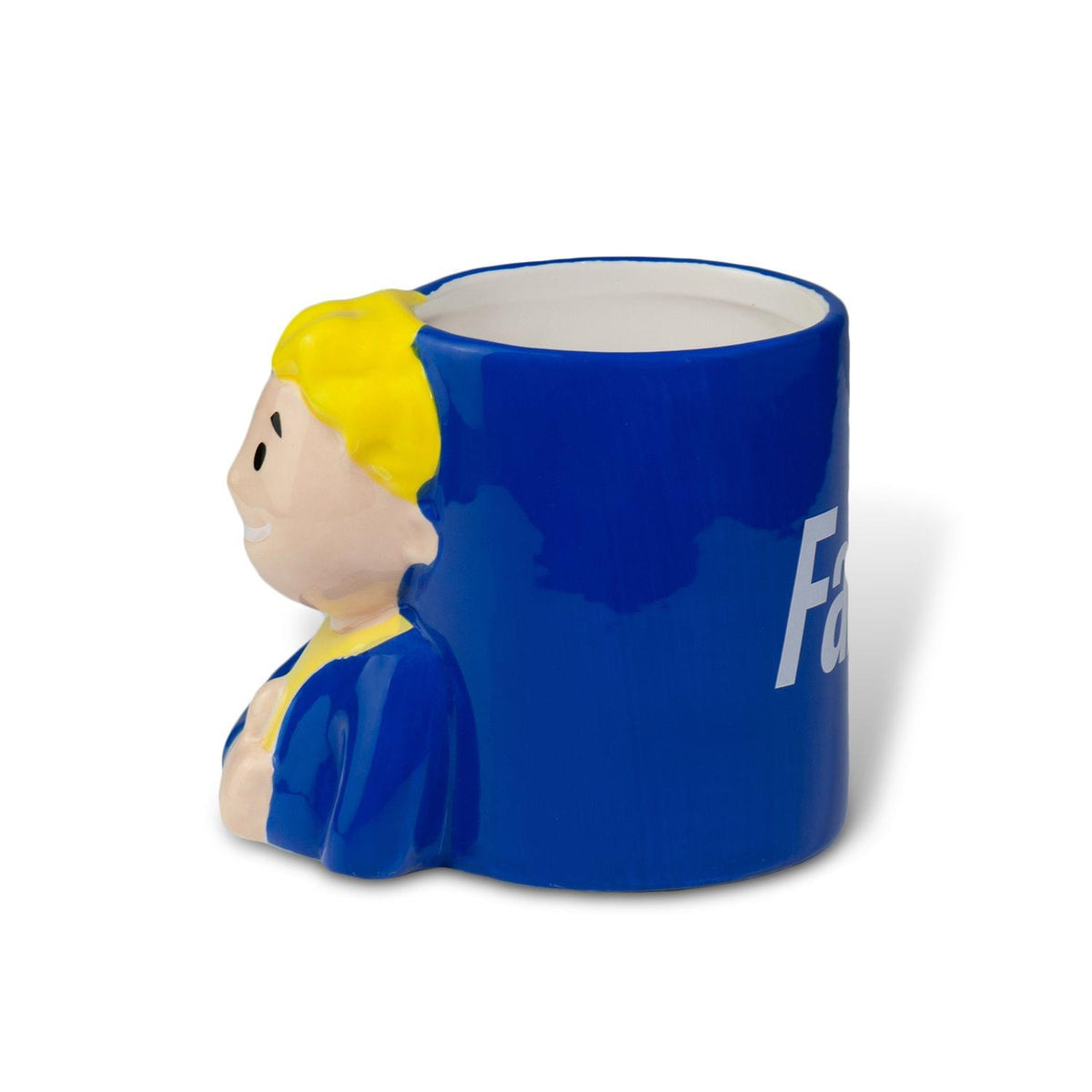 Fallout Collectibles Smiling Vault Boy Thumbs Up 3D Coffee Mug | 20 Ounces