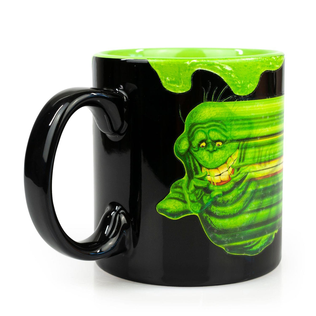 OFFICIAL Ghostbusters Coffee Mug | Glow-In-The-Dark Slimer | Ceramic 20 Oz. Cup