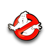 Load image into Gallery viewer, OFFICIAL Ghostbusters No Ghosts Logo Pin | Enamel Collector's Pin | Approx. 1.5""