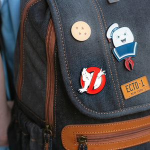 OFFICIAL Ghostbusters No Ghosts Logo Pin | Enamel Collector's Pin | Approx. 1.5""