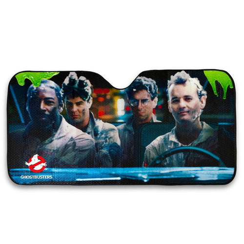Ghostbusters Original Cast Windshield Sunshade Car Shade Panel