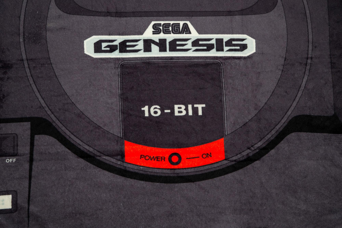 Sega Genesis Fleece Throw Blanket | Cozy Lightweight Blanket | 45 x 60 Inches