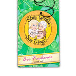 "Golden Girls ""Stay Golden, San Diego!"" Air Freshner Exclusive"