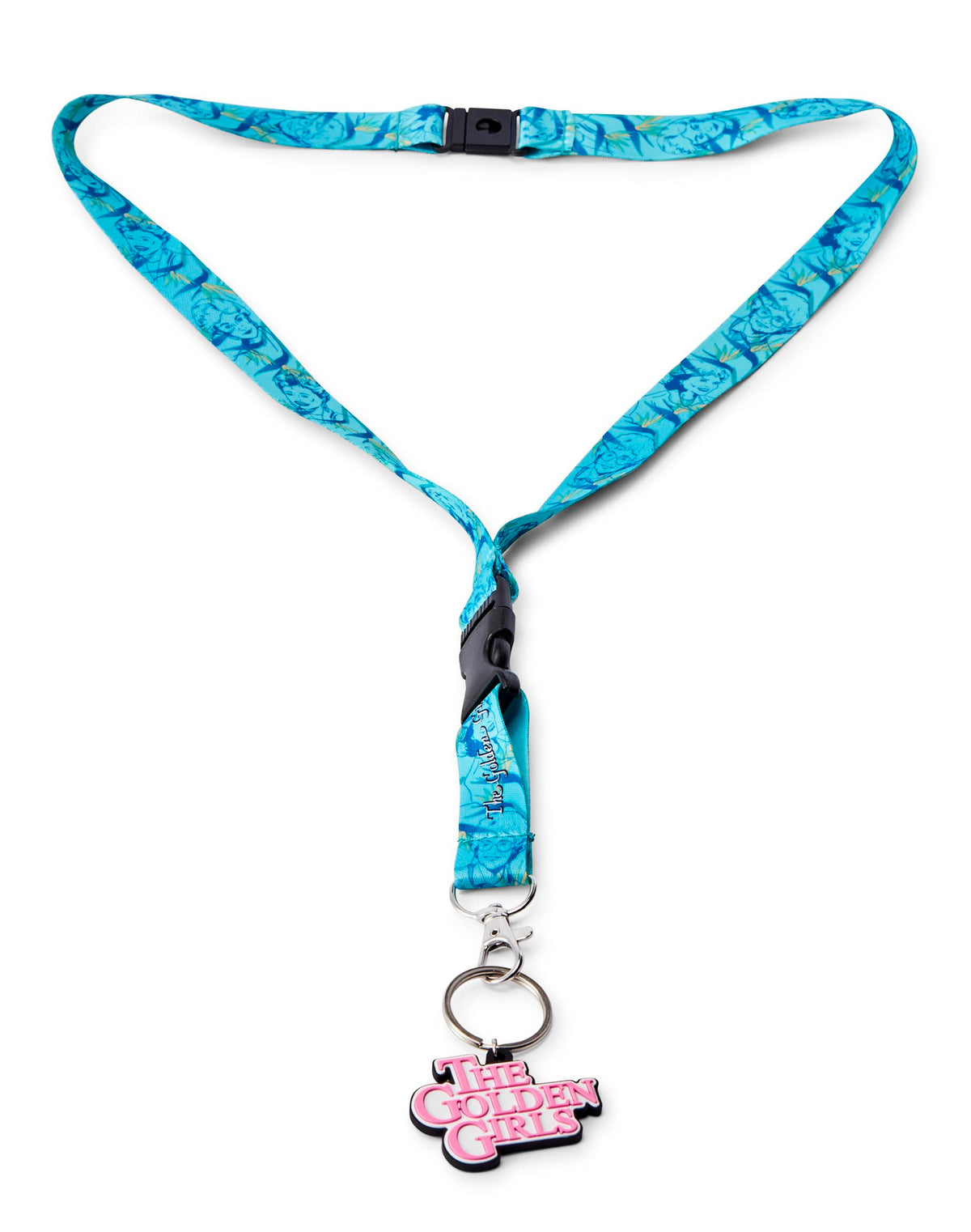 The Golden Girls Scented Break-Away Lanyard With Charm | Lavender Scented