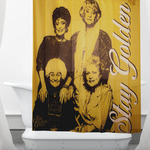 Load image into Gallery viewer, Golden Girls Collectibles | Golden Girls Stay Golden Shower Polyester Curtain