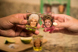 Golden Girls Shot Glasses Set of 4