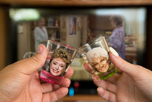 Load image into Gallery viewer, Golden Girls Shot Glasses Set of 4