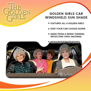 Golden Girls Car Windshield Sun Shade
