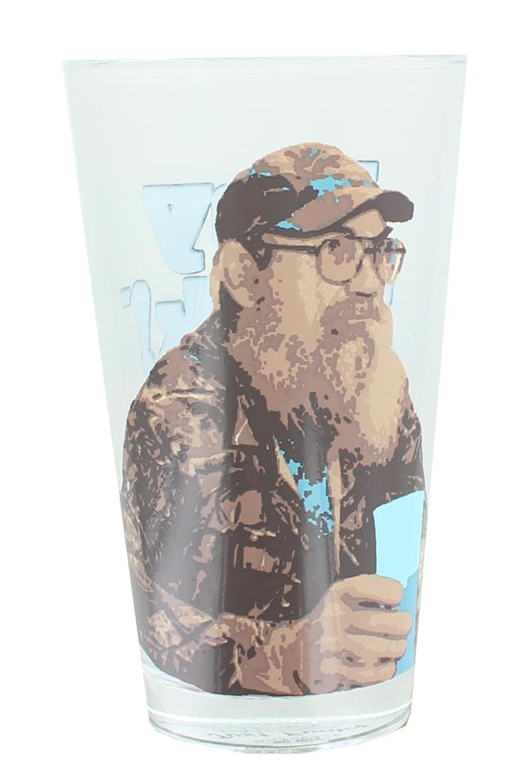 Duck Commander Si Hey Jack 16oz Clear Pint Glass