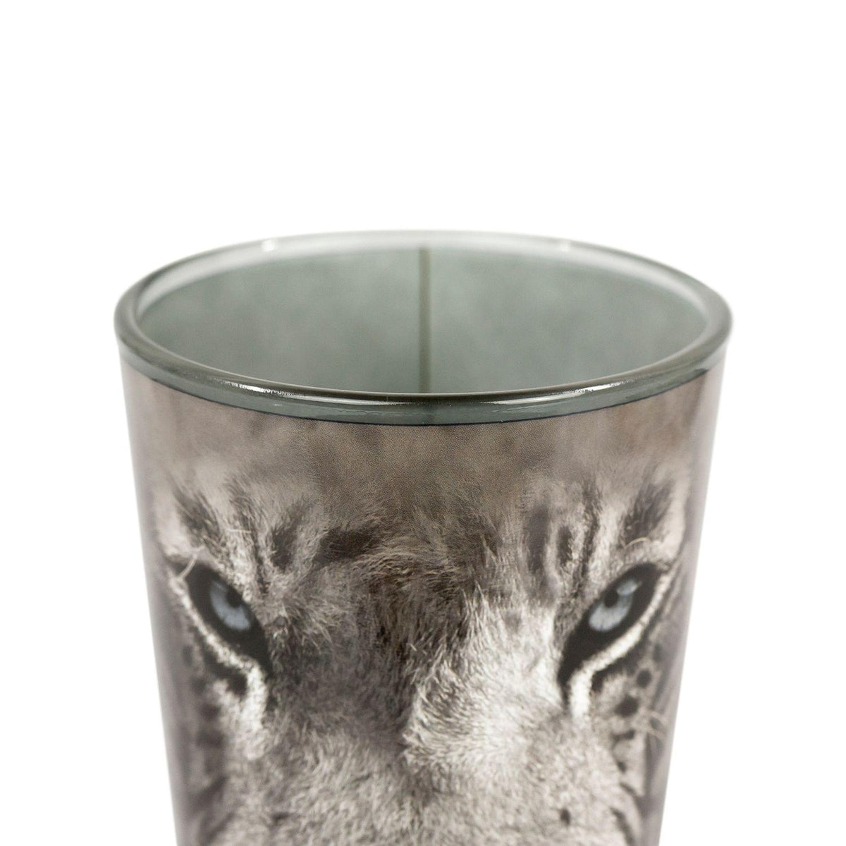 White Tiger Collectible Animal Print Glass | White Tiger 16-Ounce Pint Glass