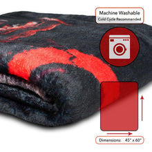 Load image into Gallery viewer, Kratos and Son God of War Lightweight Fleece Throw Blanket | 45 x 60 Inches