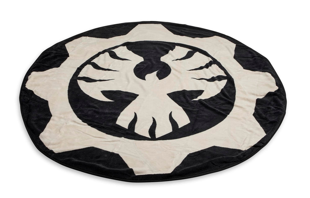 Gears of War Phoenix Omen Round Fleece Throw Blanket - 60""