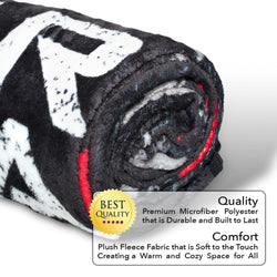 Gears Of Wars Fleece Blanket | Licensed Gears of War Merchandise 45 x 60 Inches