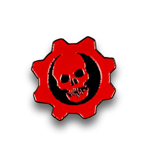 Gears of War 4 Crimson Omen Pin | Official Gears Of War Collectible Logo Pin
