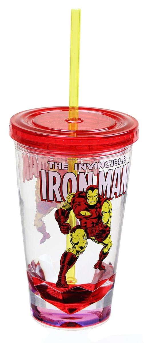 Marvel Retro Iron Man 19oz Carnival Cup