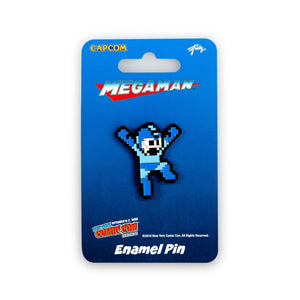 Mega Man Hero Pin | Just Funky Exclusive Mega Man Collectible Pin | 1.5