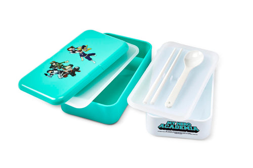 My Hero Academia Mint Green Stackable Bento Lunch Box