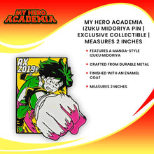 Load image into Gallery viewer, My Hero Academia Izuku Midoriya Pin | Exclusive Collectible | Measures 2 Inches