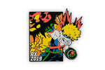 My Hero Academia Katsuki Bakugo Exclusive 2 Inch Enamel Collector Pin Anime Expo 2019
