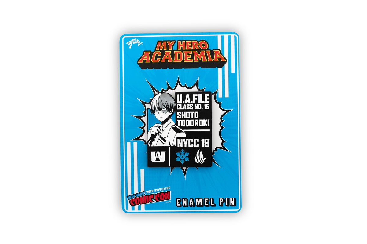 My Hero Academia Shoto Todoroki Pin | Exclusive Collectible Pin | 2 Inches tall