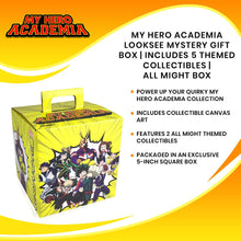 Load image into Gallery viewer, My Hero Academia LookSee Mystery Gift Box | Includes 5 Themed Collectibles | All Might Box