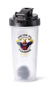 My Hero Academia All Might Training Gym Shaker Bottle | Includes Mixing Ball