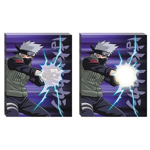 "Naruto 20""x16"" Light-Up Canvas Wall Art Bundle, Set of 2"