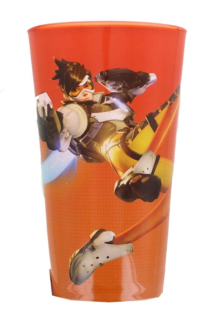 Overwatch Tracer Pint Glass