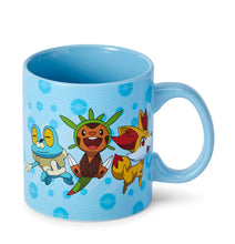 Load image into Gallery viewer, Pokemon XY Group Starters Coffee Mug - 20-Ounces Blue