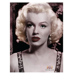 Marilyn Monroe Portrait Lightweight Fleece Throw Blanket | 45 x 60 Inches