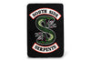 Riverdale Southside Serpents 45 x 60 Inch Fleece Throw Blanket