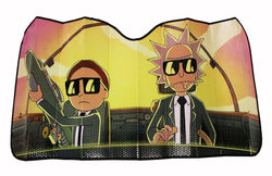 Rick and Morty Run the Jewels Accordion Auto Sunshade | Rick And Morty Accessory
