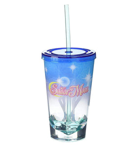 Sailor Moon Uranus & Neptune Acrylic Diamond Bottom 16oz Carnival Cup