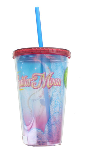 Sailor Moon Lace 16oz Carnival Cup w/ Lid & Straw