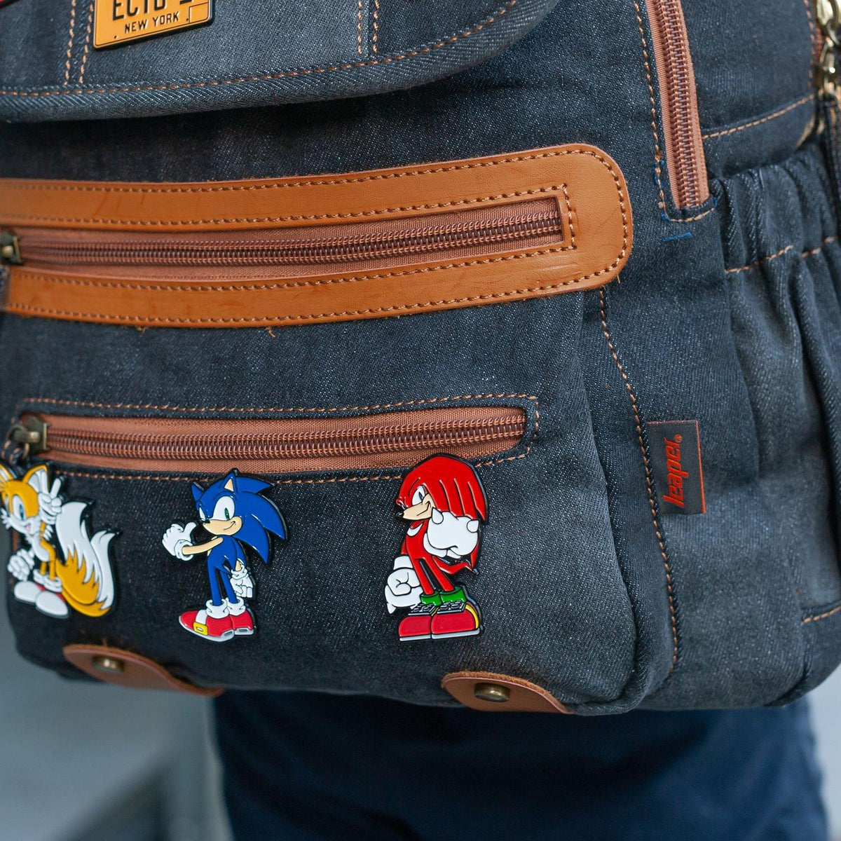 Sonic The Hedgehog Knuckles Enamel Pin | Official Sonic Series Collectible
