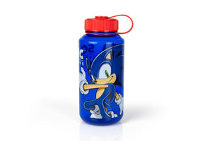 Sonic The Hedgehog 32oz Plastic Water Bottle